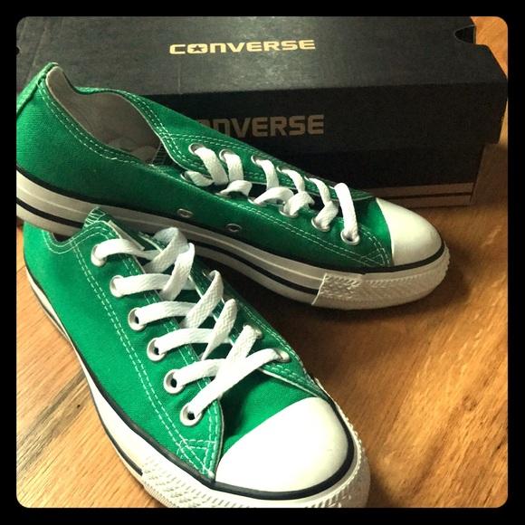 b07a8603fcf1b Women's Amazon Green Converse